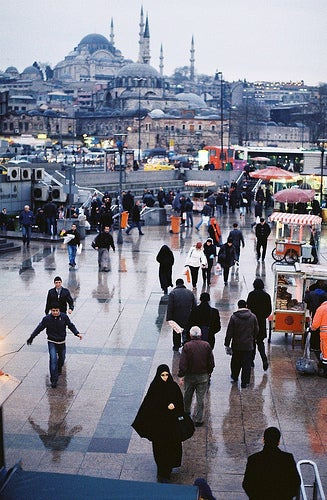 Estambul es una ciudad muy populosa.
