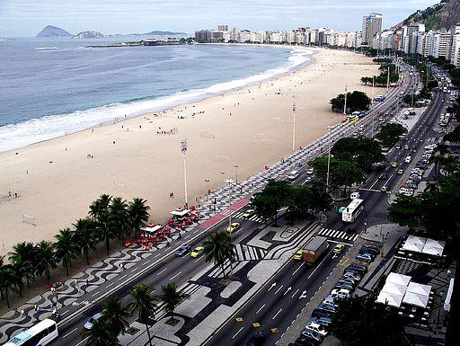 Copacabana, en Río de Janeiro.