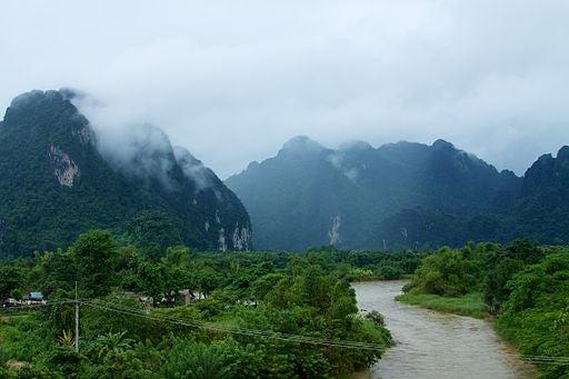 Van Vieng, en Laos.