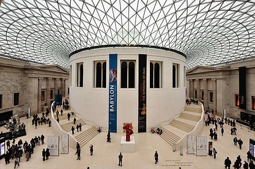 El Museo Británico.