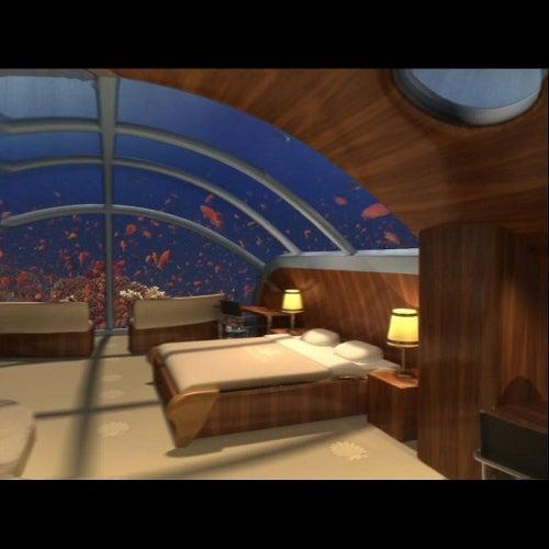 Poseidón, un hotel bajo el agua.