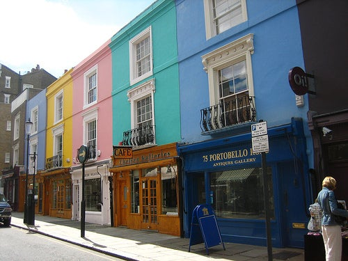 Portobello, en Notting Hill.