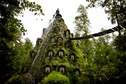 El extraordinario Magic Mountain Hotel en Chile.