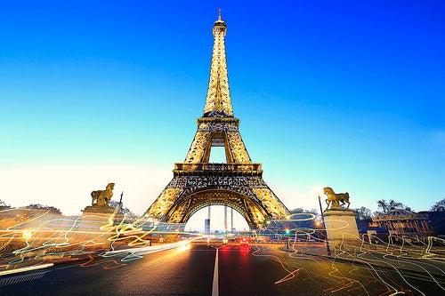 París, la ciudad del romance.