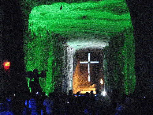 La catedral de sal, centro renovador y eco turístico.