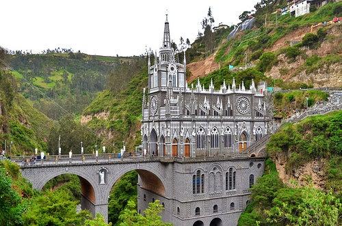 El Santuario de las Lajas, un magnífico bien cultural.