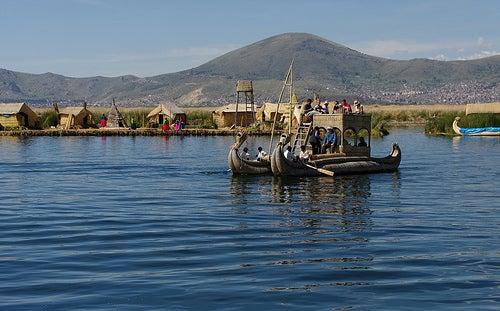 Los lagos más grandes de América_lago titicaca