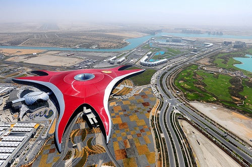 Los mejores parques de diversiones del mundo_Ferrari World