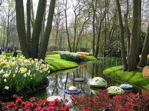 Algunos de los jardines m s bonitos del mundo un placer - Jardines bonitos y sencillos ...