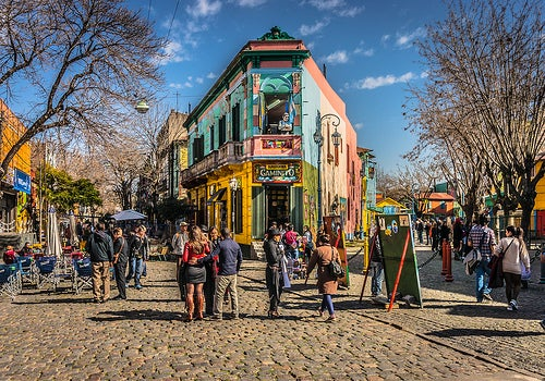 Recorremos tres barrios típicos de Buenos Aires