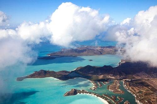 Panorámica de Antigua y Barbuda