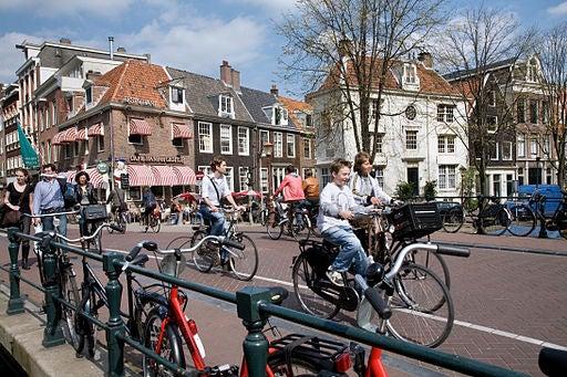 Ámsterdam, en Holanda.