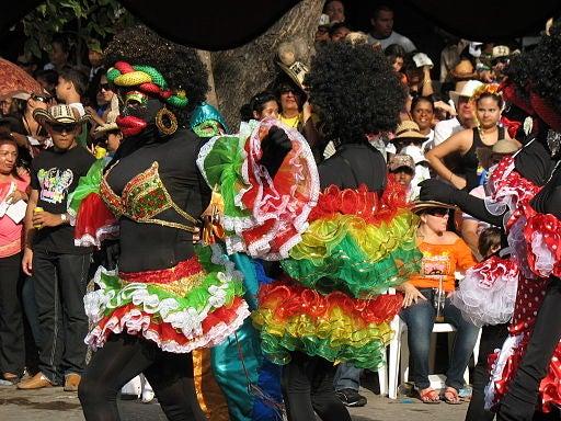 Las pintorescas tradiciones en el Carnaval de Barranquilla.
