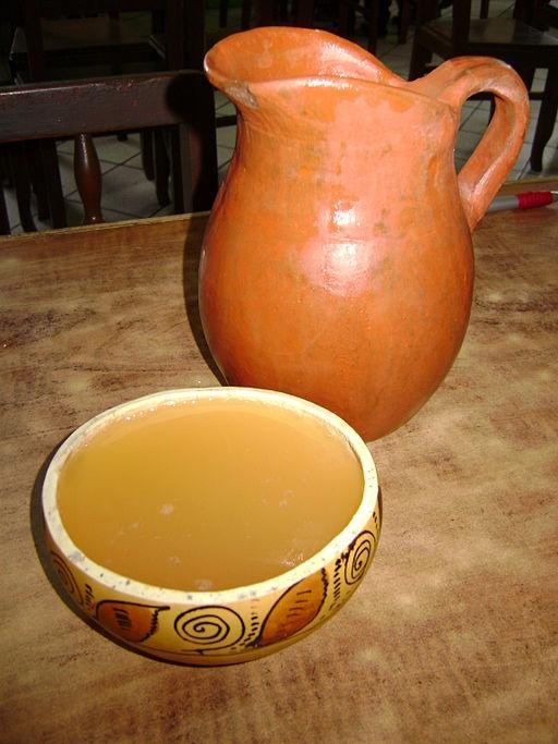 La chicha, una bebida de honda tradición.