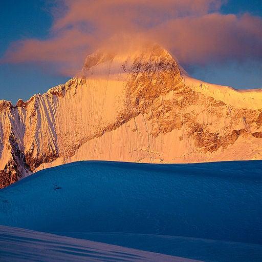 La Cordillera Blanca, en Perú.