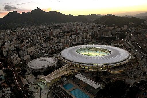 El Estadio de Maracaná, en Río de Janeiro.