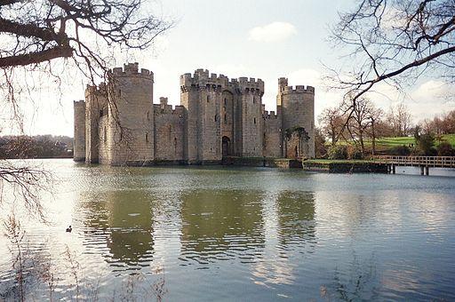 El Castillo de Bodiam.