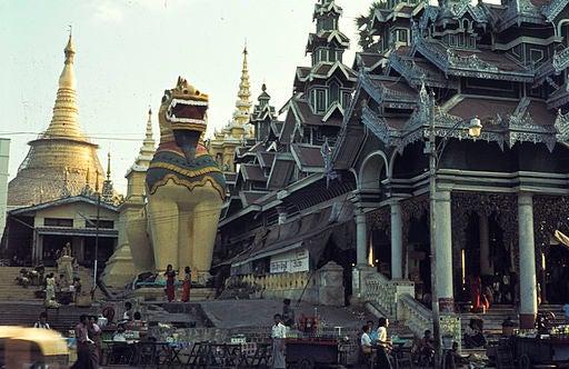 Rangún, en Birmania.