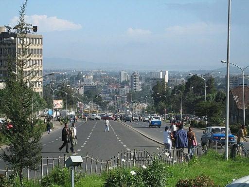 Adís Abeba, en Etiopía.