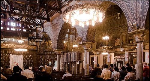 iglesia-colgante-el-cairo