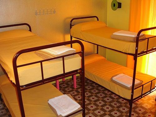 Hospedarte en un albergue