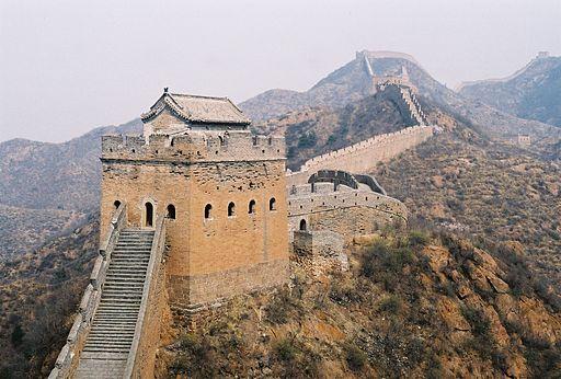 La Gran Muralla China se construyó en más de mil años.