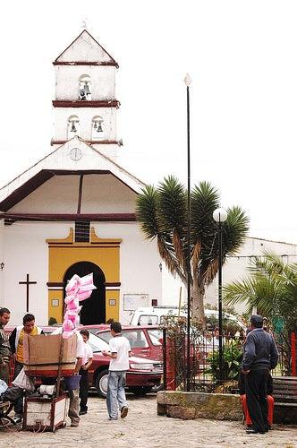 """La capilla de la llamada """"Madre del Amor Hermoso""""."""
