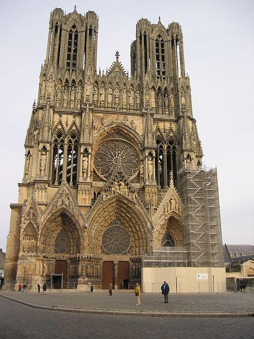 La Catedral de Nuestra Señora de Reims.