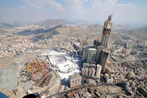 Las Las Torres Abraj Al-Bait, en Arabia.