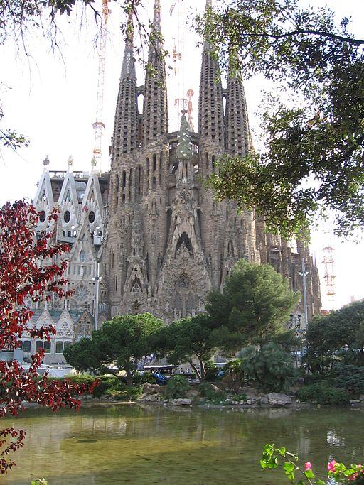 El Templo Expiatorio de la Sagrada Familia.
