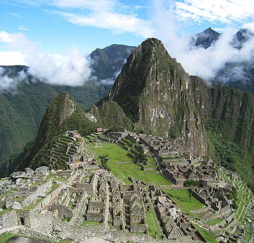 Machu Picchu, en Perú.