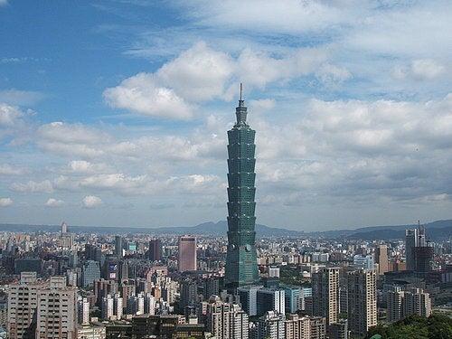 El Taipei 101, en Taiwan.