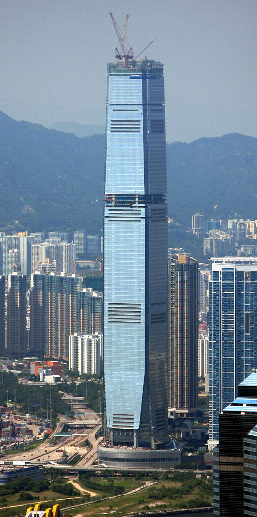 International Commerce Centre, en Hong Kong.