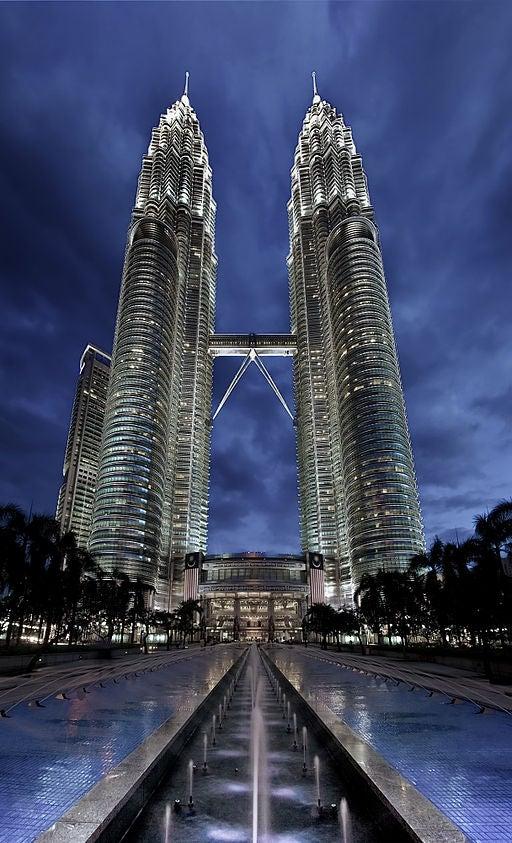 Las Torres Petronas, en Malasia.