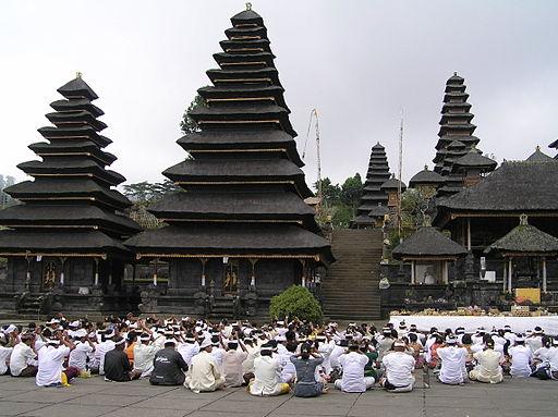 La isla de Bali, en Indonesia.