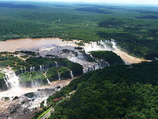 Las Cataratas de Iguazú.