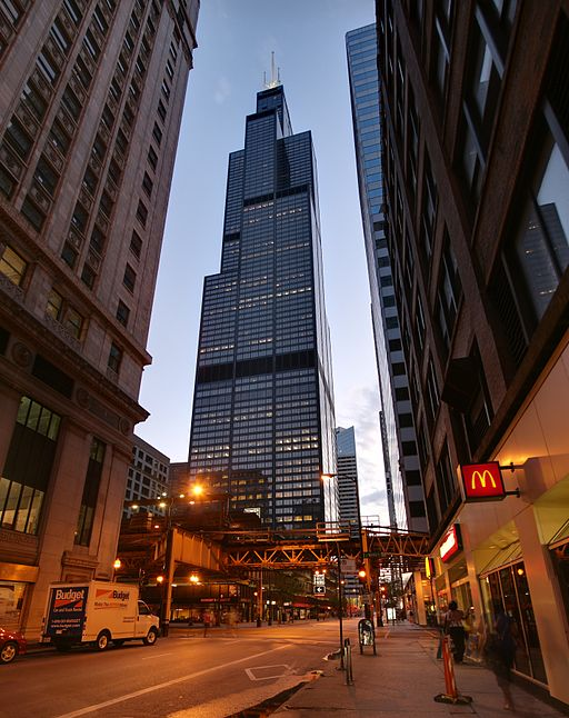 La Torre Willis, en Chicago.