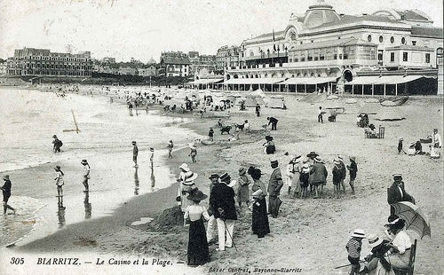 La ciudad balneario de Biarritz, el lugar favorito de una emperatriz