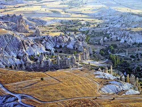 La región histórica de Capadocia, viaje a un paisaje maravilloso
