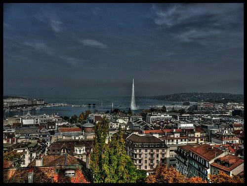 La ciudad de Ginebra, la capital de la paz y de la cultura