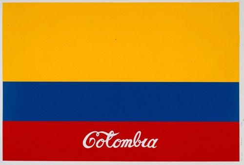 """Colombia"", obra de Antonio Caro, artista colombiano."