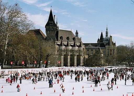 El hermoso edificio del Parlamento, en Budapest.
