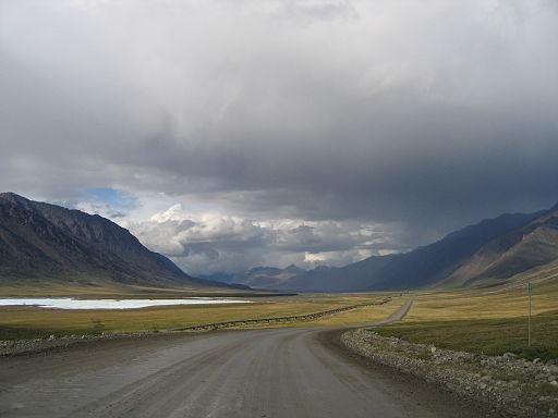 Autopista Dalton, en Alaska
