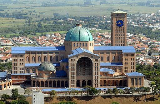Basílica de Nuestra Señora Aparecida. Brasil 02_iglesias