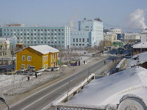Yakutsk, en Rusia.