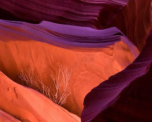 El Cañón del Antílope, en Arizona.