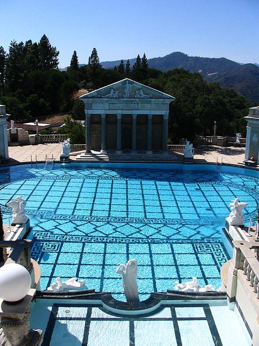 Piscina del Templo Neptuno.