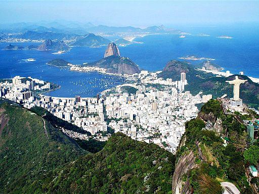 La hermosa Río de Janeiro.