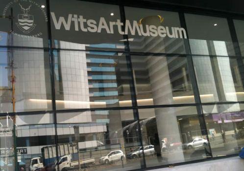 Fachada del Wits Art Museum, en Johannesburgo.