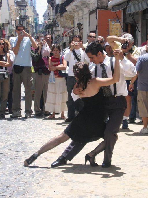 El tango en Buenos Aires, Argentina.
